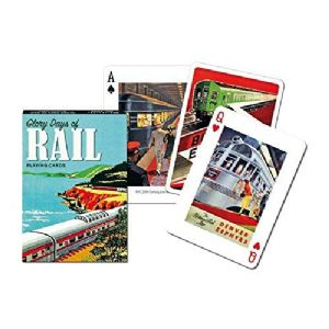 Glory Days of Rail set of playing cards + jokers    (gib)